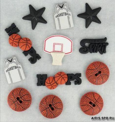 421, Фигурки. Баскетболл Dress It Up
