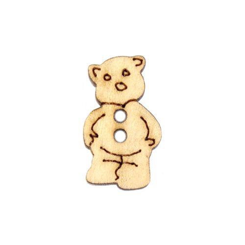 Пуговица 'Медвежонок'BUTT12580 деревянная