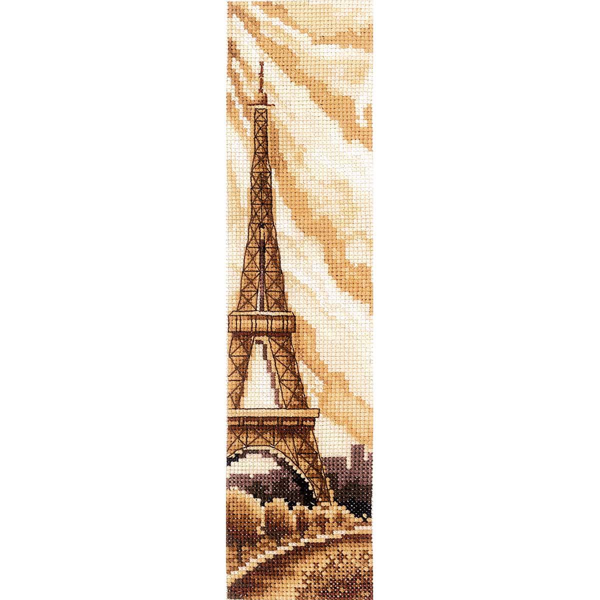 З-52 Набор для вышивания 'Закладки. Париж' 5,5 х 22см