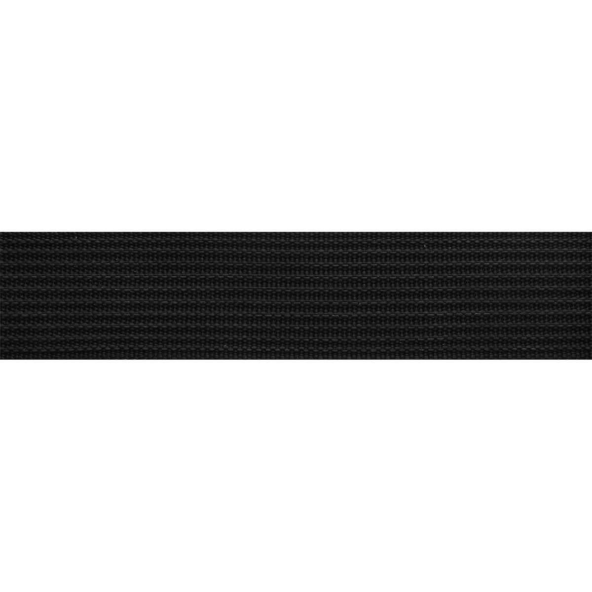 9854 Лента ременная с силиконом 48мм* 25м черный (69,2гр/м)
