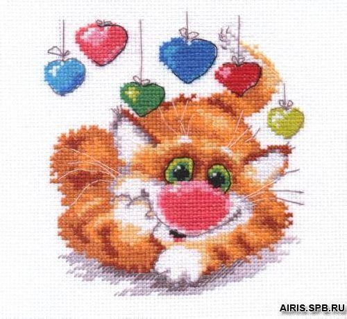 0-82 Набор для вышивания АЛИСА 'День рождения' 12*13см