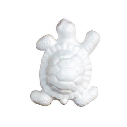 Заготовка для декорирования из пенопласта 'Черепаха маленькая', 6*13см