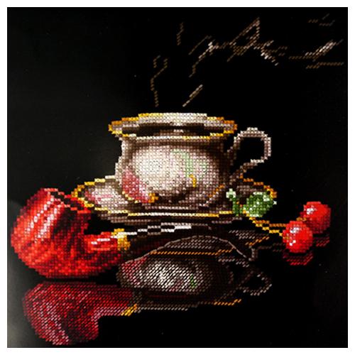 К-27 Набор для вышивания ''Кофе для него', 25х22 см