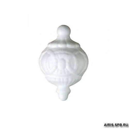 Заготовка для декорирования из пенопласта 'Топ с кругами, шариками', h 10*6,5см