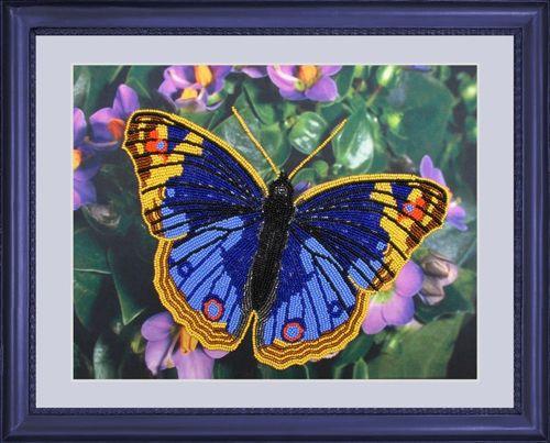 101 Набор для вышивания бисером Butterfly 'Бабочка', 25*32 см
