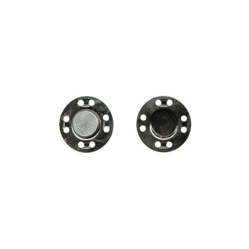 69015 Кнопка магнитная пришивн. 20мм никель