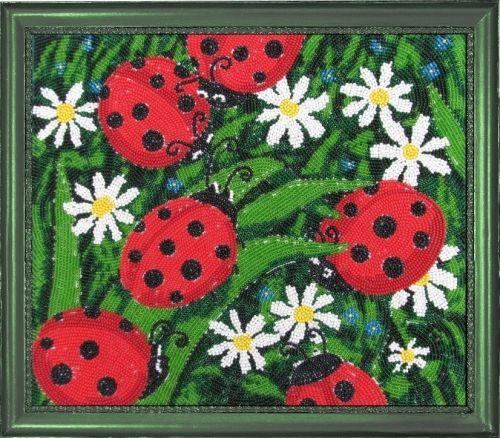 104 Набор для вышивания бисером Butterfly 'Солнышки', 24*28 см