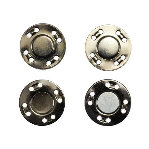 69016 Кнопка магнитная пришивн. 20мм чер/никель