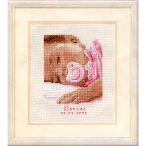 0011692-PN Набор для вышивания Vervaco 'Сладкие сны' 16x19см