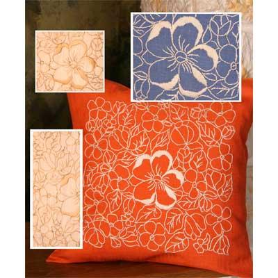 11-598-AA11 DUFTIN Набор для вышивания подушка 40х40 см