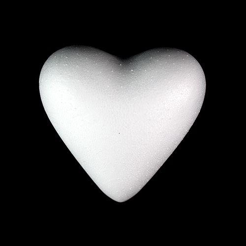 Заготовка для декорирования из пенопласта 'Сердце полное', 11см