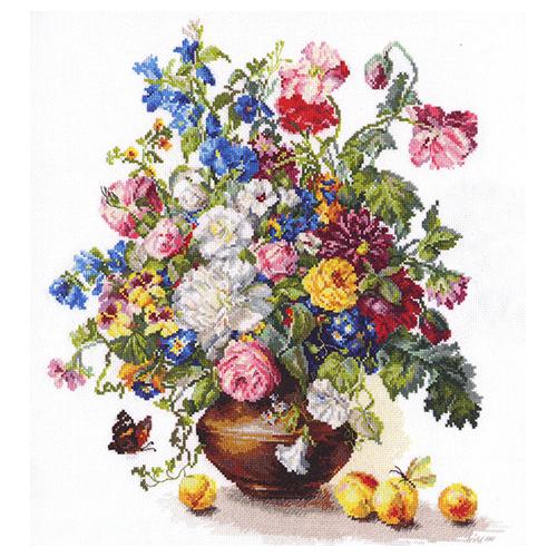 2-23 Набор для вышивания АЛИСА 'Поэзия цветов: Благоухание лета' 32*37см