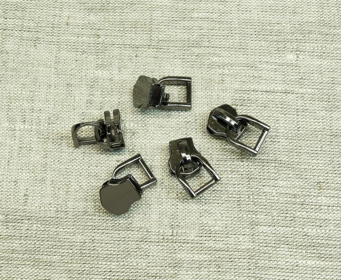 Слайдер галантерейный №5 БГ500BN черный никель, 2135001202691