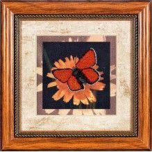 ВН1039 Набор для вышивания Alisena 'Бабочка' 18*18см