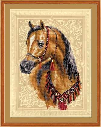 РТ-0040 Набор для вышивания Riolis 'Арабское сокровище', 30*40 см