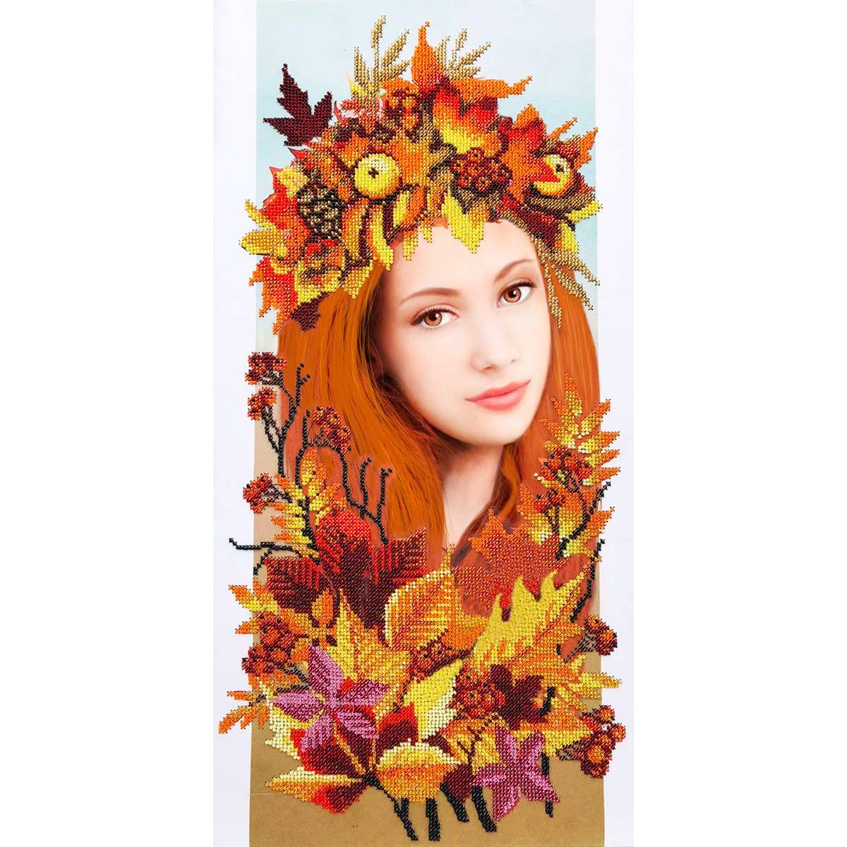 АВР-04 Наборы для вышивания бисером Созвездие 'Осень' 25*50см