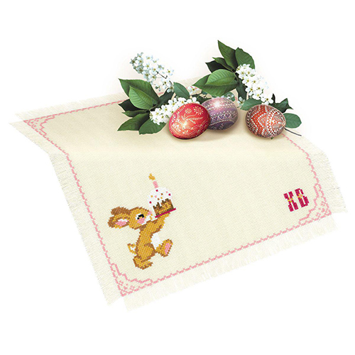 1560 Набор для вышивания Riolis салфетка 'К светлому празднику', 30*30 см