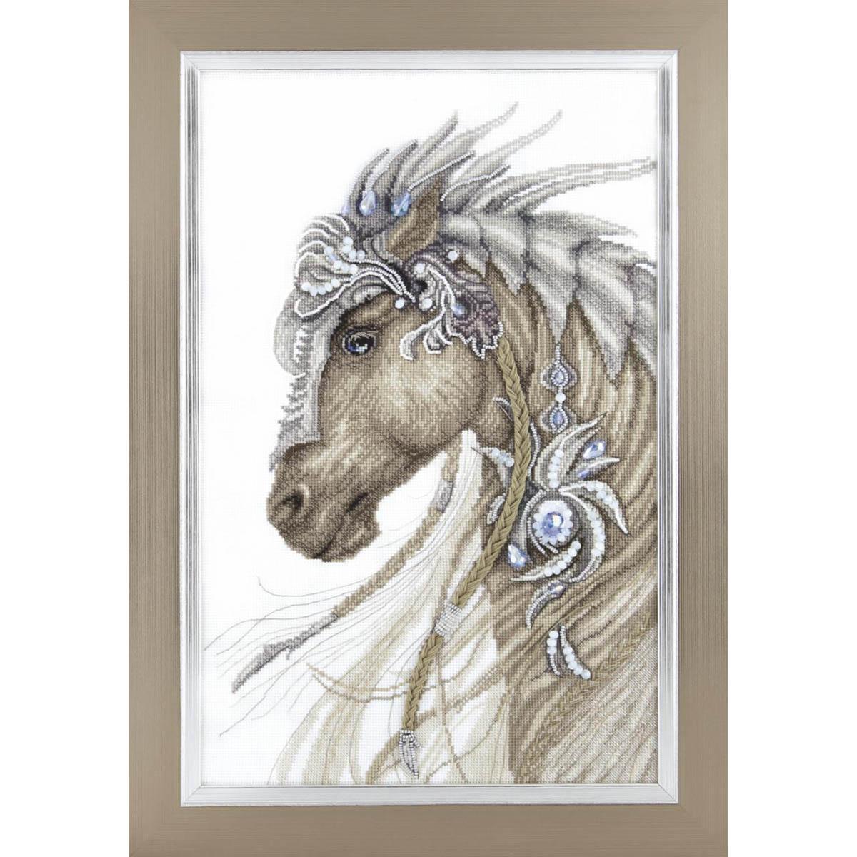 М-291 Набор выш. 'Чарівна Мить' Сказочный конь'
