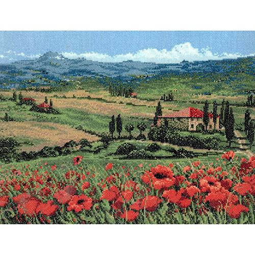 100/001 Набор для вышивания Риолис 'Тоскана' 40*30см