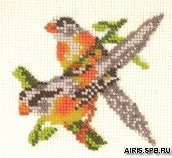 В094 Набор для вышивания бисером 'Амадины'