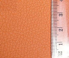 23675 Кожа искусственная 20*30см.,толщ.0,85мм, в уп.2 листа, цв.оранжевый