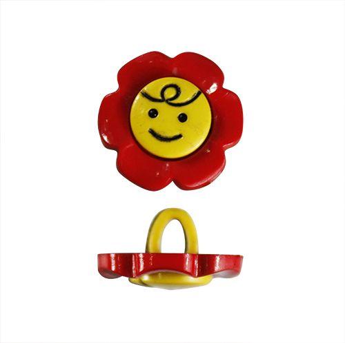 48277 Пуговица 'Веселый цветок',15 мм