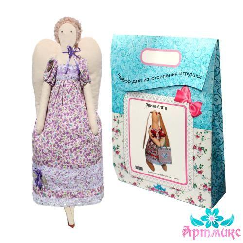 AM200015 Подарочный набор для изготовления текстильной игрушки 'Ангелина', высота 42 см
