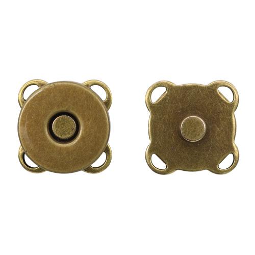 2AS-102 Кнопка магнитная пришивная 14мм