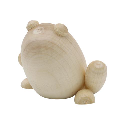 Деревянная заготовка фигурка 'Лягушка', 5 см