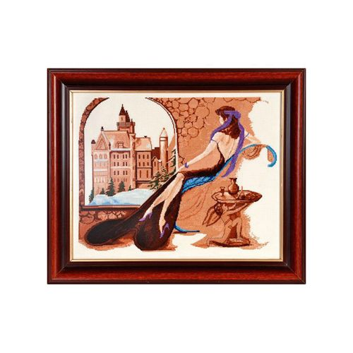 1148 Набор для вышивания Alisena 'Замок девичих грез', 43*34 см