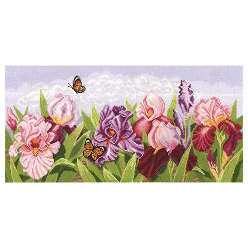 Т-11 Набор для вышивания ''Торжество цветов. Ирисы', 54*24 см