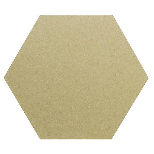 Заготовка из папье-маше Подставка под чашку-многоугольник 11x9.5см (набор 10 шт) SCB271060