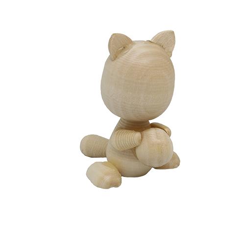 Деревянная заготовка Фигурки животных Кот