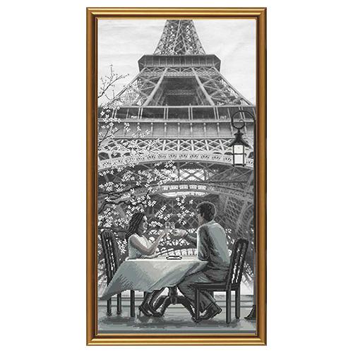 AC6009 Набор для вышивания 'Париж - город любви. Молодость'30x60см