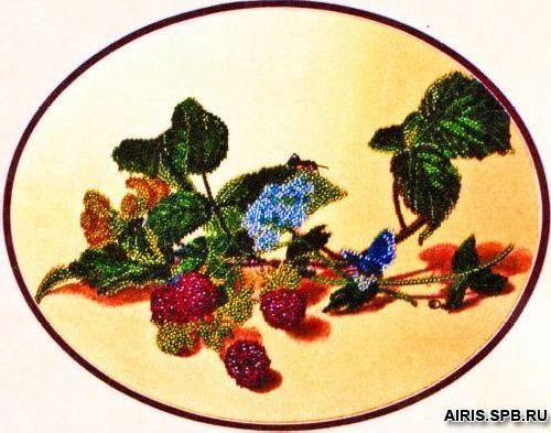 ВН1029 Набор для вышивания Alisena 'Малина', 29*24 см