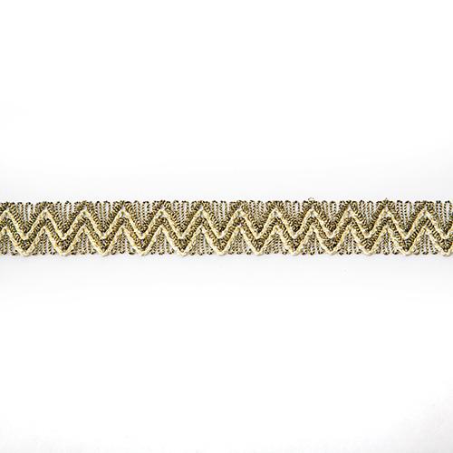 Тесьма металлизированная арт.10324 15мм*16,5м