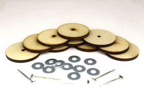 23543 Набор креплений фанера № 40 для игрушек, уп.5 комплектов