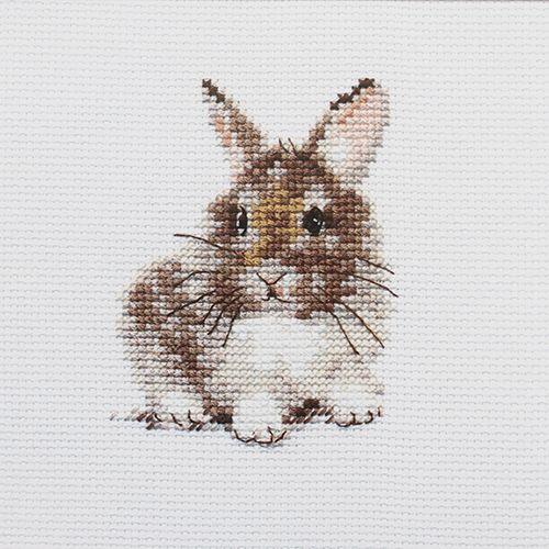 0-170 Набор для вышивания АЛИСА 'Крольчонок' 9*7см