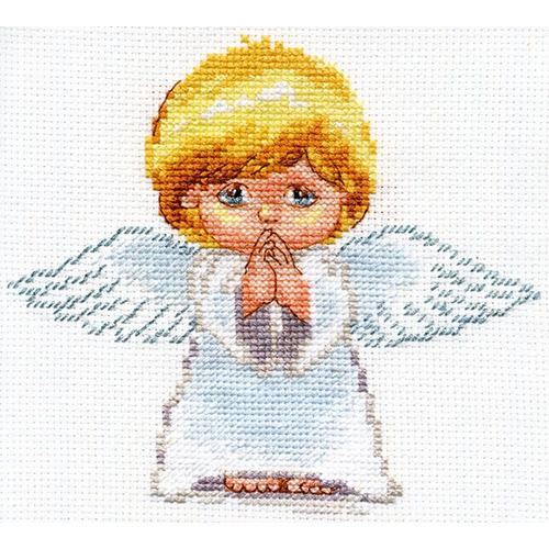 0-109 Набор для вышивания АЛИСА 'Мой ангел!' 14*13см