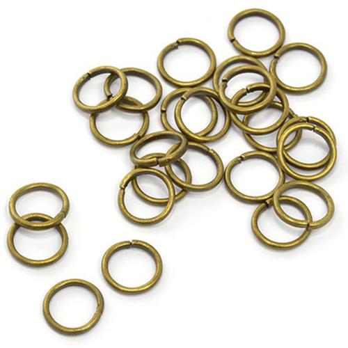 Кольцо соединительное для бус 7мм уп.50шт