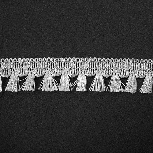 Бахрома металлизированная арт.2873 24мм*16,5м