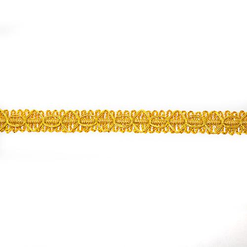 Тесьма металлизированная арт.6171 13мм*16,5м