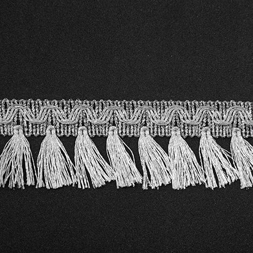 Бахрома металлизированная арт.10535 43мм*16,5м