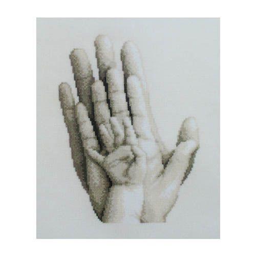 PN-0154230 Набор для вышивания Vervaco 'Руки' 20x25см