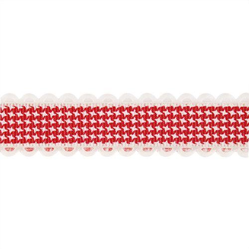 Лента декоративная 'Гусиные лапки' 20мм*25м YH99