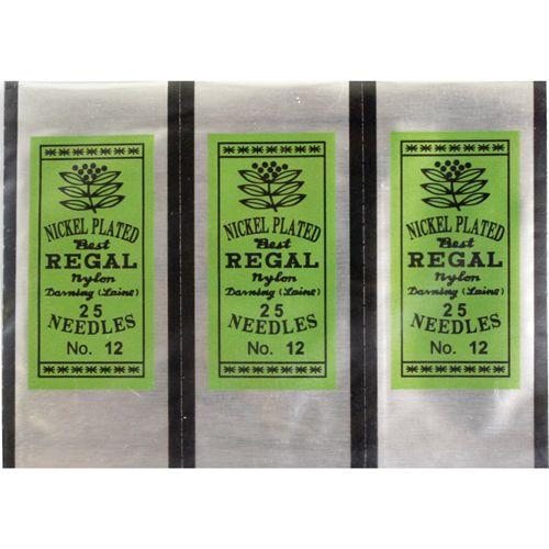 0332-1001 Иглы для бисера Regal, 25 шт.