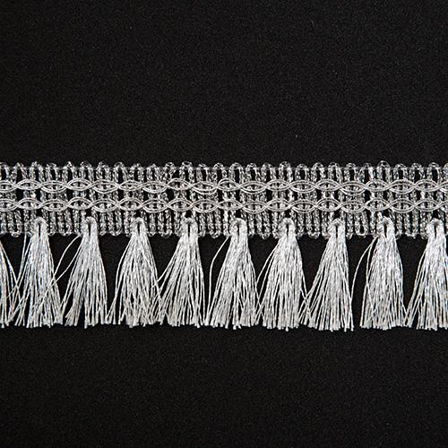 Бахрома металлизированная арт.595 43мм*16,5м