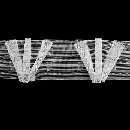 6125-KD Тесьма шторная 6см*100м