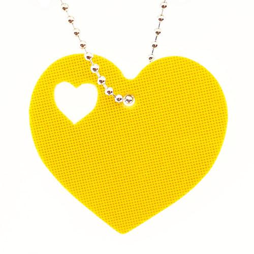 Световозвращатель подвеска 'Сердце в сердце'
