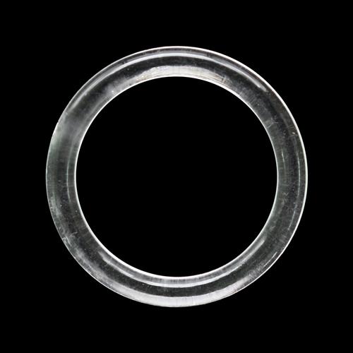 5AS-1871 Кольцо 15мм пластик прозрачный